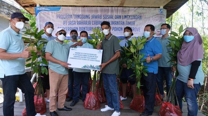 Program Bantuan Tanggung Jawab Sosial, Jasa Raharja Beri Bantuan Bibit dan Dana Pendidikan di PPU