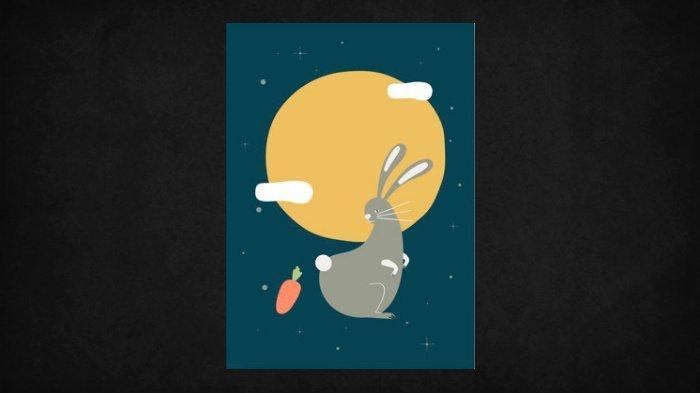Ilustrasi shio kelinci.