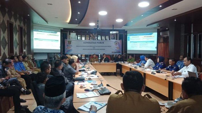 Bappeda Gelar Konsultasi Pulbik, Penguatan Pembangunan Berkelanjutan Berwawasan Lingkungan