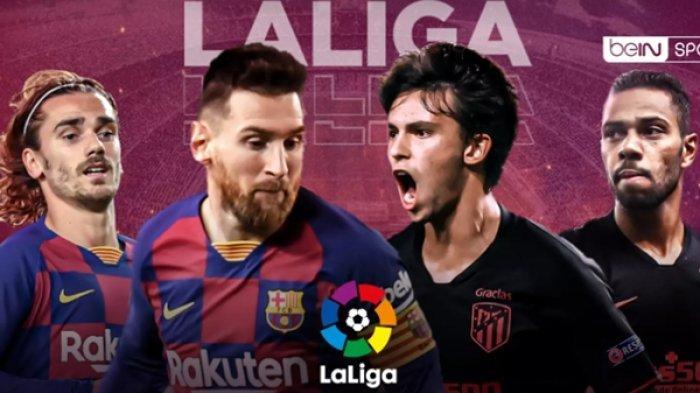 BERLANGSUNG Live Streaming Liga Spanyol, Barcelona vs Atletico Madrid, Link TV Online Bein Sports 1