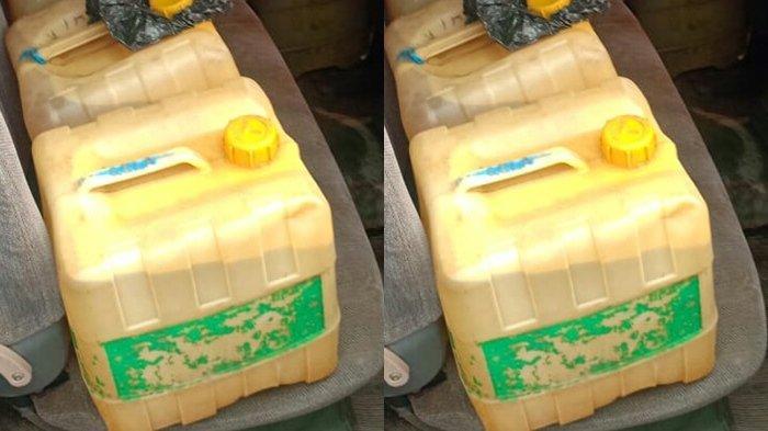 Lagi Polres Berau Tangkap Penimbun BBM, Warga Tanjung Redeb Timbun Premium 18 Jerigen Diciduk Polisi