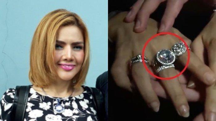 Cincin Berlian Barbie Kumalasari Bandingkan Penampakan Kalung Berlian 30 Karat Milik Syekh Qatar