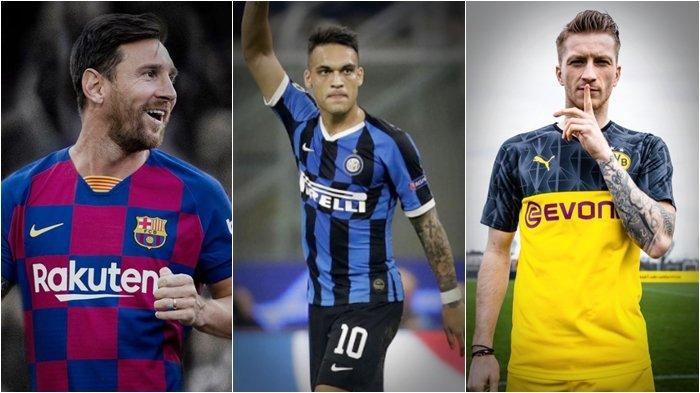 Jadwal Live Streaming TV Online Liga Champions, Dortmund vs Inter Milan Demi Tempel Ketat Barcelona