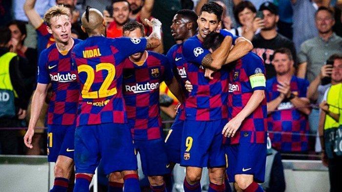 Hasil Liga Champions, Luis Suarez Berikan Kekalahan Pertama Antonio Conte Bersama Inter Milan
