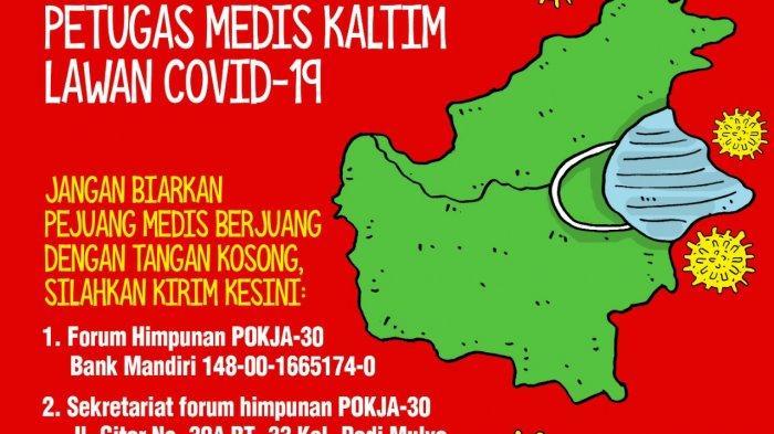 Dukung Tim Medis Lawan Corona, KMS Kaltim Langsung Transfer Hasil Donasi Hari Pertama ke IDI Kaltim