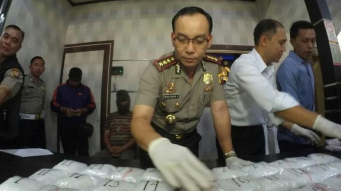Polisi Gagalkan Penyelundupan Sabu 5 Kg yang Disembunyikan dalam Kardus Laptop