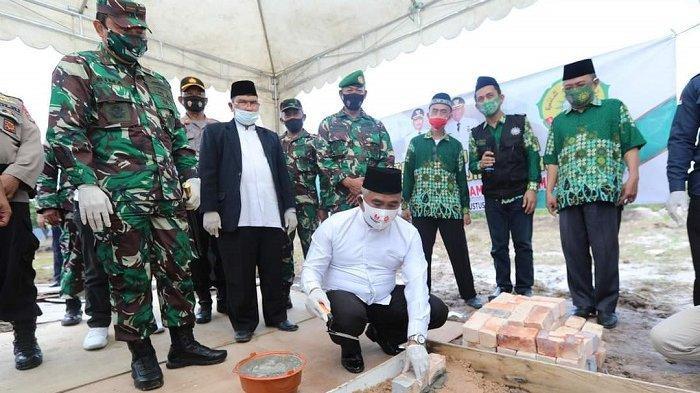 Walikota Khairul Ajak Umat Muslim Wakaf Pembangunan Masjid