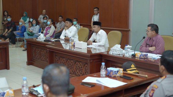 Pimpin Rapat Pencegahan dan Penanganan Corona, Bupati PPU AGM Inginkan Ada Langkah Strategis Daerah