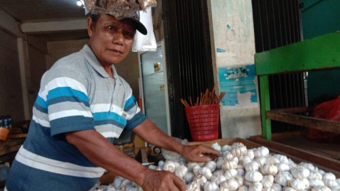 Harga Bawang Putih di Balikpapan Sudah Turun, Sehari Pedagang Jual Hingga 20 Kilogram