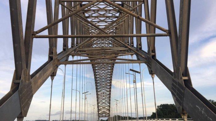 BREAKING NEWS Diresmikan, Malam Ini Pukul 19.00 Wita Jembatan Mahakam IV bisa Dilalui Kendaraan