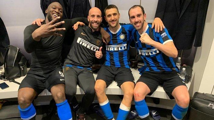 Inter Milan Siap Lepas Diego Godin, Antonio Conte Lebih Pilih Pemain Masa Depan Timnas Italia