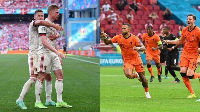 Hasil & Klasemen Euro 2020 Terbaru: Comeback Manis De Bruyne, Belgia dan Belanda Susul Italia