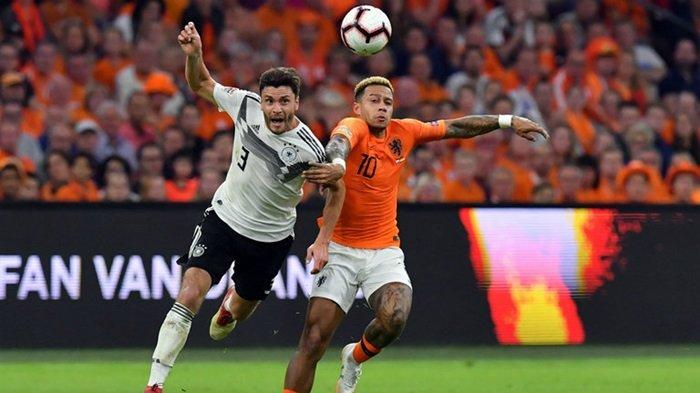 Cuplikan Gol Belanda vs Jerman Tadi Malam, Joachim Loew Sampai Kebingungan