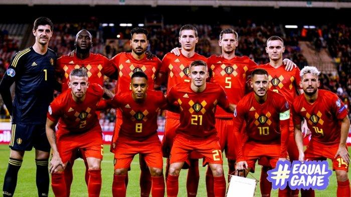 Ganasnya Skuat Belgia di Piala Eropa EURO 2020, Hazard Masih Dipanggil Walau Melempem di Real Madrid