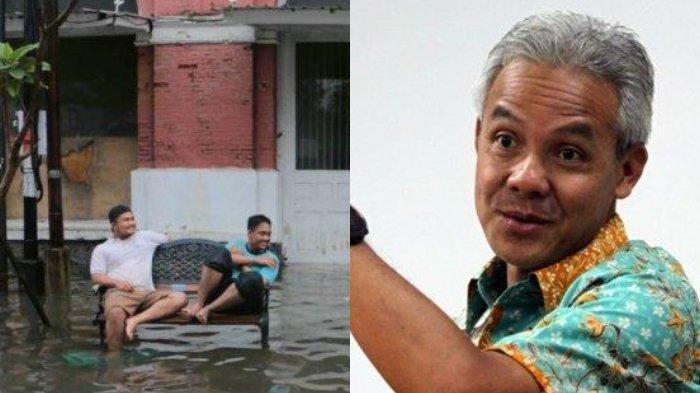 Tak Berkelit Ganjar Pranowo Langsung Akui Banjir di Semarang Salahnya, Anies Baswedan Sempat Disorot