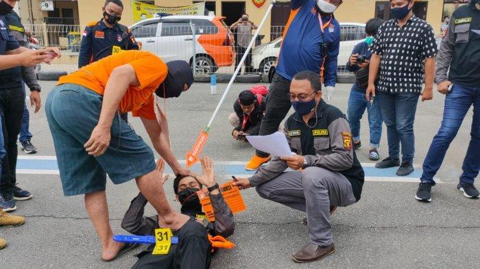 Bentrokan di Palaran Samarinda, 41 Adegan Diperagakan Tersangka Sebelum Menghabisi Nyawa Korban