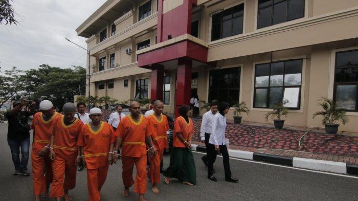 Ditresnarkoba Polda Kaltim Gerebek Loket Penjualan Narkoba Gunung Bugis Balikpapan, Ada 11 Pengedar
