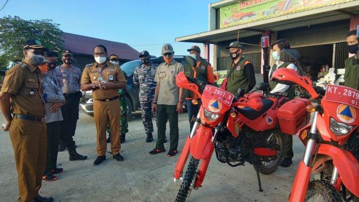 BPBD Kutim Serahkan Kendaraan Operasional untuk Posko Karhutla Sangkulirang
