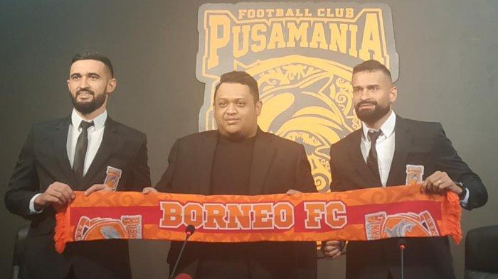 Penyerang Asal Brasil Borneo FC Samarinda Francisco Torres Nilai Liga Indonesia Semakin Kompetitif