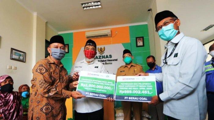 Baznas Berau Salurkan 1500 Paket Sembako