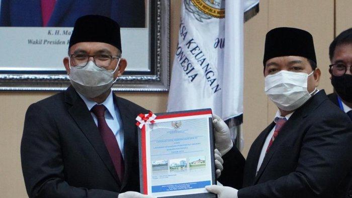 Dibawah Kepemimpinan Muharram-Agus Tamtomo, Kabupaten Berau Kembali Raih Predikat WTP