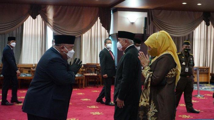 Zainuddin Fanani jadi Komisaris Utama Independen BPD Kaltimtara, Dilantik Gubernur Kaltim Isran Noor