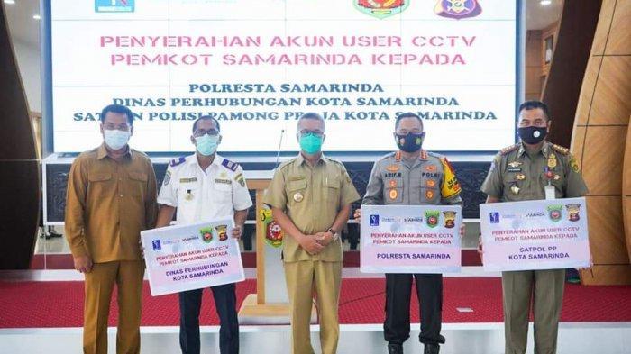 Walikota Samarinda Syaharie Jaang Berikan Akun User CCTV, Harapkan Bisa Meminimalisir Kriminalitas