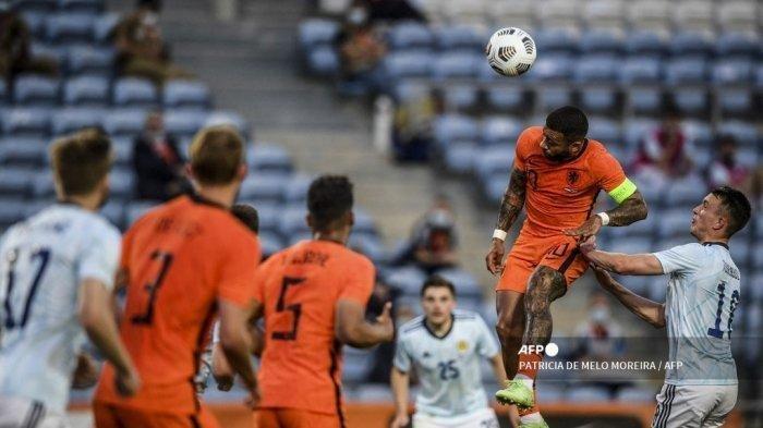 Hasil Euro 2020, Belanda vs Ukraina, Wajah Tim Oranye Diselamatkan Denzel Dumfries