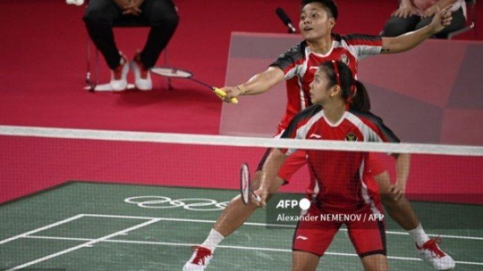 Jadwal Final Bulu Tangkis Olimpiade Hari Ini, Live Streaming Greysia Polii/Apriyani Rahayu