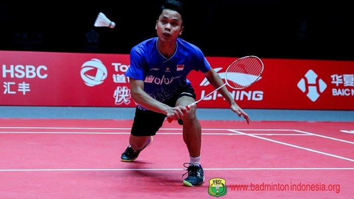 BERLANGSUNG Link Live Streaming TV Online BWF World Tour Finals 2019 Anthony Ginting vs Chen Long