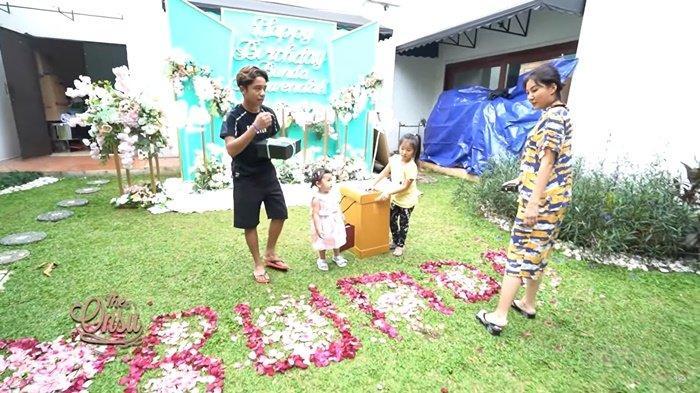 Ruben Onsu Diam-diam Merekam Kebiasaan Sarwendah Tiap Pagi, Betrand Peto Beri Kejutan untuk Bunda