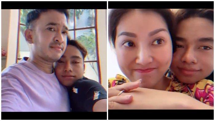 Betrand Peto Bikin Terharu, Posting Video Bersama Keluarga Ruben Onsu: Ingin Selalu Bersama Mereka