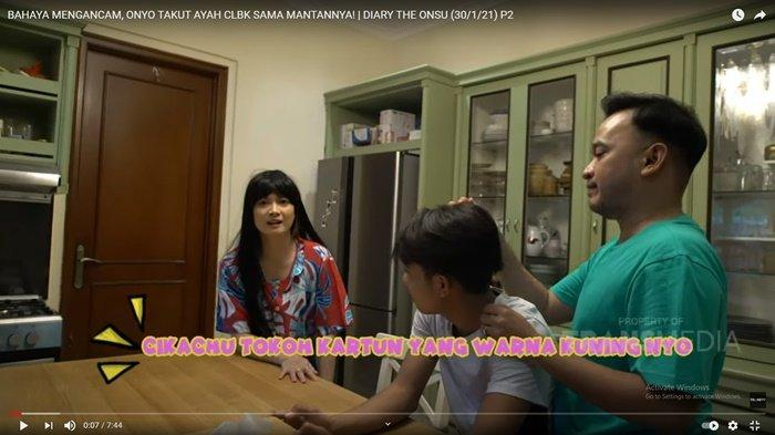 Betrand Peto Syok, Mantan Pacar Ruben Onsu Nekat Datang ke Rumah, Chika Jessica Mengungkit Masa Lalu
