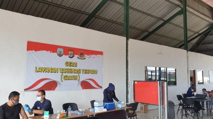 UPDATE Virus Corona di Kaltara, Target Vaksinasi Covid-19 Tenaga Kesehatan dan Pelayan Publik