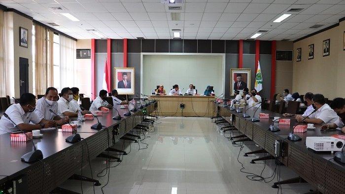 Setwan DPRD Kaltim Ikuti Bimbingan dan Konsultasi Kearsipan