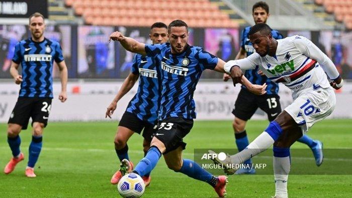 Live RCTI, Jadwal Liga Italia Malam Ini: Sampdoria vs Inter Milan, Peluang Nerazzurri Raih Capolista