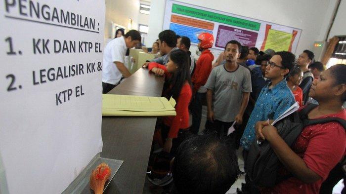 Jatah 1.000 Blanko E-KTP untuk Berau Ludes dalam 1 Hari, Warga yang Tak Kebagian Mengaku Kecewa