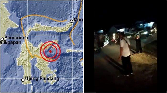 BMKG Cabut Peringatan Dini Tsunami, Warga Banggai Kepulauan Masih Berlarian Evakuasi Diri