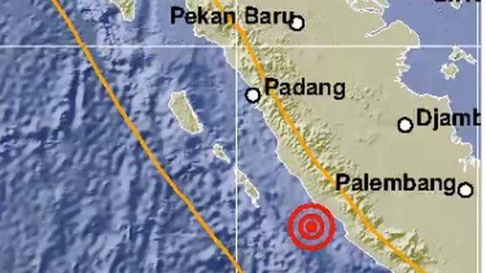 BREAKING NEWS BMKG: 2 Gempa Bengkulu Hari Ini Cukup Besar, 1 Kekuatan 6,9 SR, Tak Berpotensi Tsunami