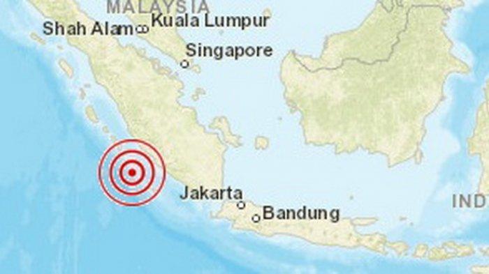 BREAKING NEWS: Gempa 5 SR Kembali Guncang Bengkulu, Sebelumnya Lebih Kuat hingga IV MMI di 2 Wilayah
