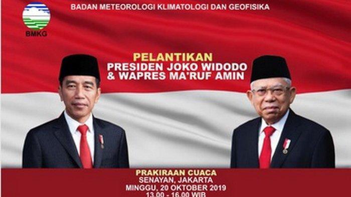 BMKG Beri Prakiraan Cuaca Khusus Senayan Jakarta saat Pelantikan Presiden, Perlu Siapkan Payung?