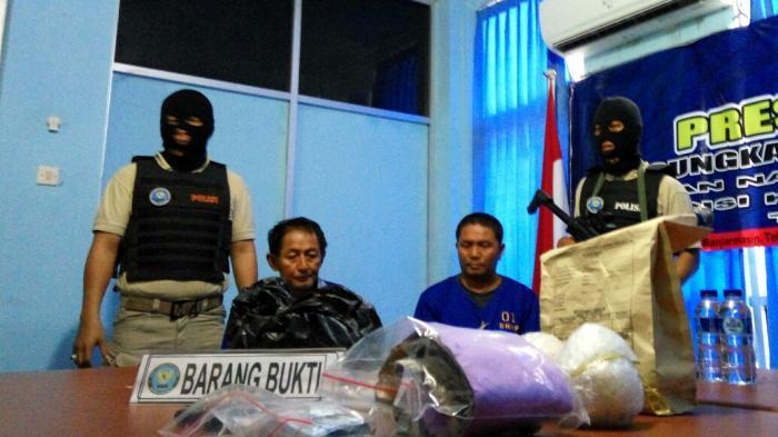 Duh. . . Kurir Sabu 2 Kg yang Ditangkap BNN Kalsel ini Berasal dari Kaltara