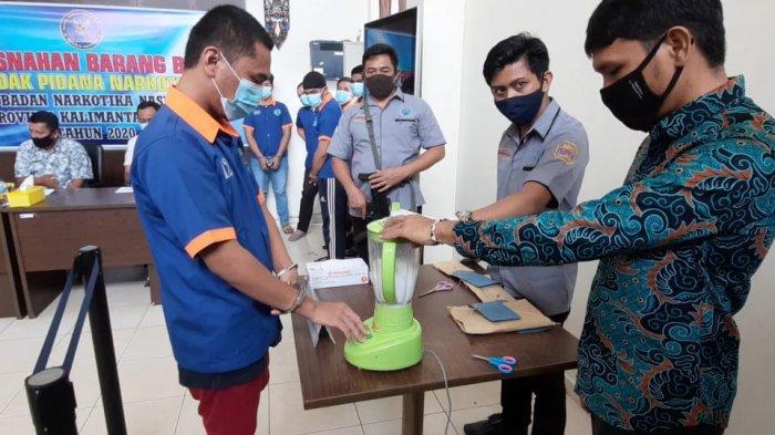 BNNP Kaltim Musnahkan Sabu Milik 6 Pelaku, Penangkapan di Loket Khusus Penjualan Hingga di Mall
