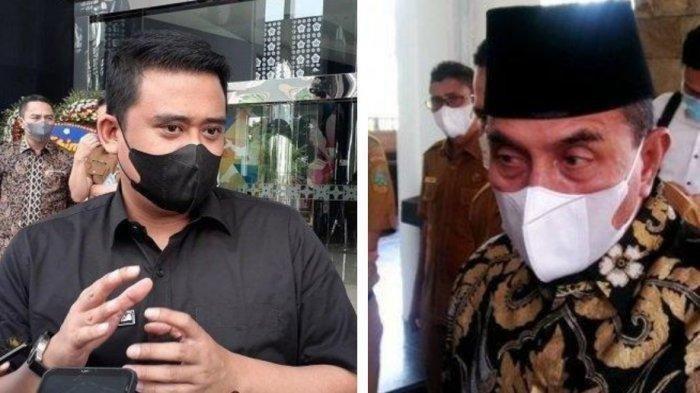 Gubernur Sumut Edy Rahmayadi & Walikota Medan Bobby Nasution Kompak Copot Kadinkes, tapi Beda Alasan