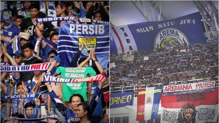 Big Match Persib vs Arema FC, Aremania Tak Perlu ke Bandung, hingga Bobotoh Dilarang Balas Dendam