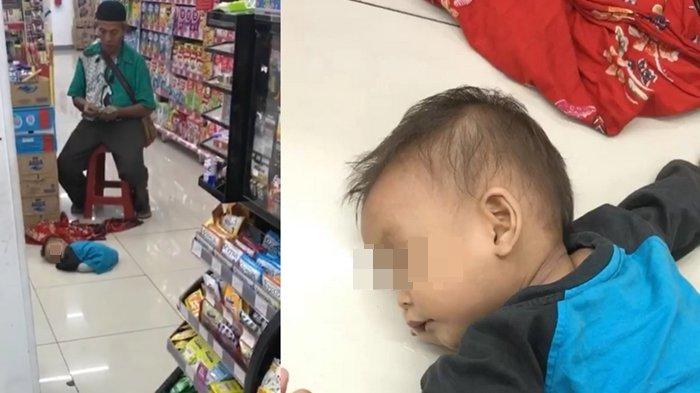 Terkuak, Begini Fakta Terbaru Soal Balita Viral yang Tergeletak Lemas di Lantai Minimarket