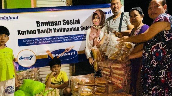 Sebarkan 20 Ribu Roti untuk Korban Banjir di Kalimantan Selatan, Bogasari Gandeng Dua Distributor