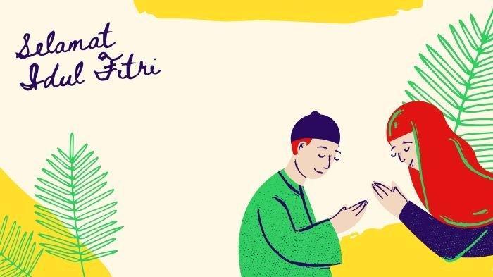 GRATIS! Cara Mudah Membuat Kartu Lebaran Hari Raya Idul Fitri 2021/1442 H Secara Online