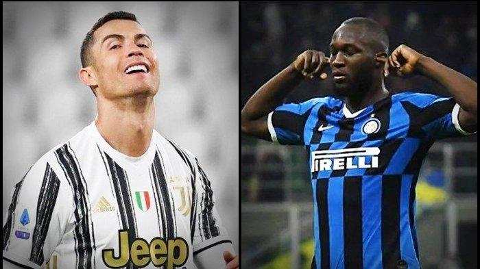 Daftar Top Skor Liga Italia, Bomber Juventus dan Inter Milan Adu Cetak Gol, Ronaldo Kangkangi Lukaku