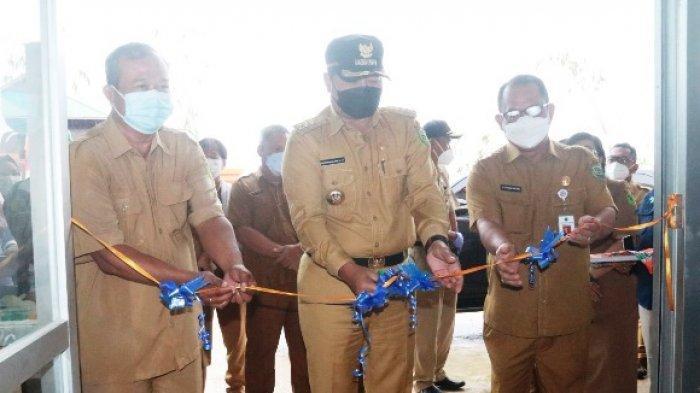 Buka Unit Pelayanan Covid-19 Center, Bupati Mahulu Resmikan Gedung Puskesmas Ujoh Bilang
